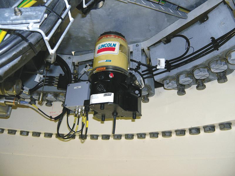 sistema centralizado de lubricacion